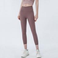 กางเกงโยคะกับกระเป๋าออกกำลังกายที่ไร้รอยต่อยิมเอวสูง Leggings กีฬาผู้หญิงเสื้อผ้าออกกำลังกายวิ่ง Push Up กางเกงเลกกิ้ง