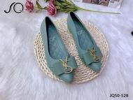 รองเท้าแฟชั่นผู้หญิง รองเท้าคัชชู หัวแหลม ทรงฮิต รองเท้าทำงาน เที่ยว รองเท้าเพื่อสุขภาพ ใส่สบาย กันลื่น ราคาถูก มีหลายสี พร้อมส่ง