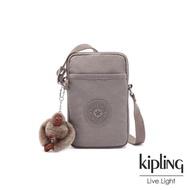 【KIPLING】沉穩時尚灰可愛長方形小包-TALLY