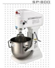 【發發發小舖】(現購)買就送鋁合金手轉盤1個/士邦八公升桌上型專業級攪拌機 SP-800(1桶3配件)