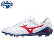 MIZUNO MONARCIDA NEO II PRO 寬楦 成人 足球釘鞋 白紅藍 P1GA210262 21FWO