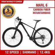 [Preorder] ★VOLCK Marl 6 Mountain Bike★ Carbon Fiber Bicycle/Shimano Deora M6000/30S/12.4kg/SAVA/5 Years Warranty [EST: 31 May 2021]