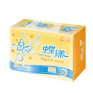 【蝶漾】超輕柔抽取式衛生紙100抽x24包x3串/箱