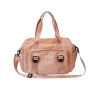 กระเป๋าเดินทางผ้าใบสบายๆระยะสั้นชาย2021แนวโน้มใหม่ที่มีน้ำหนักเบาออกจากกระเป๋าคอมพิวเตอร์14-นิ้ว