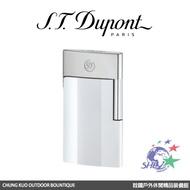 S.T. Dupont 法國都彭頂級打火機 E-Slim 超薄USB充電式打火機 / 質感白 / 27003 【詮國】