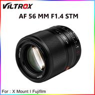 Viltrox 56mm F1.4 STM เลนส์ออโต้โฟกัสสําหรับกล้อง Fuji X-Mount Mirrorless cameras X-Pro3 X-T2 X-T3 X-T4 X-T10 X-T20 XT-30 AX7 XA5 XA3