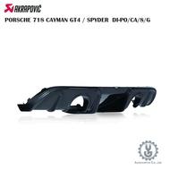蠍子 PORSCHE 718 CAYMAN GT4/SPYDER DI-PO/CA/8/G 排氣 進氣 空運【YGAUT