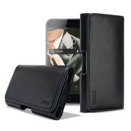 XM ASUS ZenFone 4 ZE554KL / ZenFone 4 Pro ZS551KL 5.5吋 型男羊皮橫式腰掛皮套