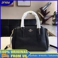 Coach f28976 28977womans Bag กระเป๋าถือกระเป๋าสะพายธุรกิจกระเป๋าสะพายแฟชั่น กระเป๋าสตรี กระเป๋าสะพาย กระเป๋าถือ กระเป๋าสะพายข้าง 1