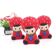 Squishy Strawberry Princess 10CM Slow Rising Rebound Jumbo Toys With Packaging Gift Decor