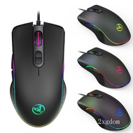 現貨免運 機械滑鼠 有線電競滑鼠 遊戲滑鼠 可程式電競 6400dpi 光學滑鼠 RGB發光 競技滑鼠