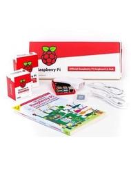 Raspberry Pi 4 Desktop Kit 官方版桌機套件(含Pi 4/4G + 鍵盤/滑鼠 + micro HDMI轉HDMI線x2 + 電源 + 外殼 + 教學手冊 + 16GB SD卡)