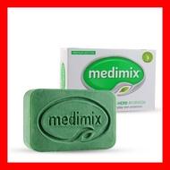 售完為止~ Medimix 阿育吠陀百年經典美膚皂(深綠)125g/顆~MEDIMIX 阿育吠陀 草本精萃皂