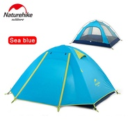 NatureHike 2 3 4 Person Camping Tent Double Layer Outdoor Camp Hiking Travel Large Family Tent