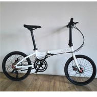 Crius 20-Inch Ultra-Light Men and Women Adult Aluminum Alloy Popular Disc Brakes Folding Bicycle D8 S18 9 Speed 18 Speed