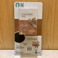 星巴克 Starbucks VIA Colombia 即溶研磨咖啡 好市多