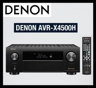 Denon AVR X4500H 8 HDMI, High Power 9.2 Channel Amplifier, Dolby Surround Sound (Sealed, Brand New, 220V) (LIMITED SALE)