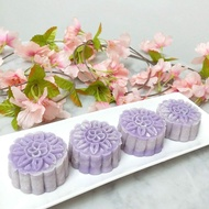 Pure Yam Snowskin Mooncake 6pcs 55gsm/ Preorder Available chat with us
