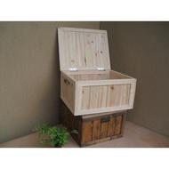 客製各種尺寸和樣式木箱-90*60*40的有蓋木箱 (各種尺寸請先詢價)