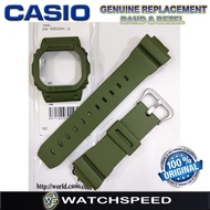 Original Replacement Band and Bezel for Casio G-Shock For DW-5600M-3/DW5600M-3