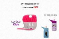 Curble - Curble Kids 兒童坐姿矯正椅背- 粉紅( 韓國制造 原裝行貨 )加送Eco Vessel 400ml不銹鋼兒童水樽