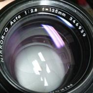 鏡頭 nikon 美品 手動 135mm f2.8 non ai