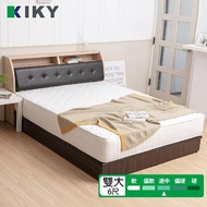 【KIKY】二代英式床邊加強獨立筒床墊(雙人加大6尺)