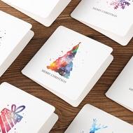韓國創意圣誕節賀卡卡片紙S835祝福小卡片感恩節迷你感謝卡