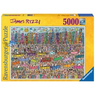 German Ravensburger 5000 pieces jigsaw puzzle fairy tale world for Adult