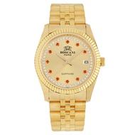 (100% Authentic 1 year warranty) ROSCANI PARIS Watch BG 497529 Gold Color