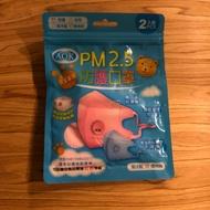 AOK PM2.5兒童/幼兒 防護口罩 兩入裝