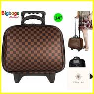 กระเป๋าเดินทาง ร้านแนะนำPolo กระเป๋าเดินทางล้อลาก 14 นิ้ว รุ่น 641B (Brown)