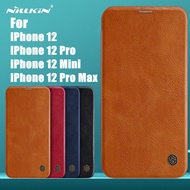 Casing Apple iPhone 12 / iPhone 12 Mini / iPhone 12 Pro / iPhone 12 Pro Max NILLKIN QIN LEATHER Flip Case Cover