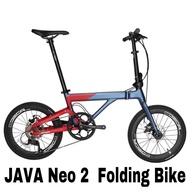 "pm ask JAVA neo 2 neo2 Folding Bike Bicycle 20"" (406) 9 speed"