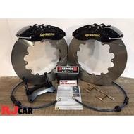 RJCAR ㊣ AP9040 六活塞卡鉗/搭配355mm全浮動碟盤/Ferodo DS2500來令片Skoda車系