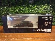 1/64 BM Creations Suzuki Swift 1989 Black 64b0030【MGM】