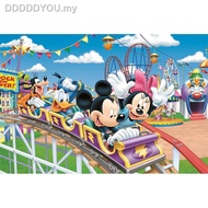 ✜✓CHINA import Jigsaw Puzzles 1000PCS Adult puzzle Mickey roller coaster11111
