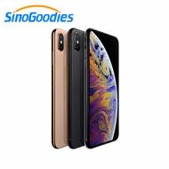 Original จีนรุ่นใหม่ Apple iPhone XS 5.8 นิ้ว OLED จอแสดงผล 4G LTE สมาร์ทโฟน 64 GB/256 GB ROM A12 Bionic สมาร์ทโฟน