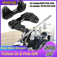[Seller Recommend] Hot sale 2 pcs Motorcycle Rearset Base Foot Pegs Accessories for Yamaha MT03 YZF-R3 2015-2016