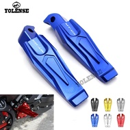 For YAMAHA MT-03 MT03 MT 03 Motorcycle Accessories CNC Aluminum Passenger Footrests Rear Foot Pegs
