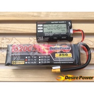 《輪速RC》Desire Power 鋰聚電池 DP V8 5200mah 3S 11.1V 35c-70C 現貨