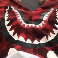 BAPE 鯊魚 迷彩 紅迷彩 綠迷彩 CAMO 短褲 棉短褲