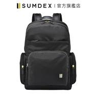 Sumdex|都會商務雙層電腦後背包 NON-776BK 黑色 官方旗艦店