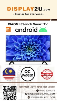 JAN Clearance Sale: 32-inch XiaoMi (Smart Android TV)