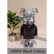 Bearbrick Jacket 400%-1000% Jacket Bearbrick Colour Grey&Black (jacket only)