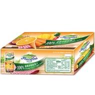 免運!好市多線上代購!嘉紛娜100%蔬果汁 三種口味一箱24入 橙香 葡萄 蘋果奇異果