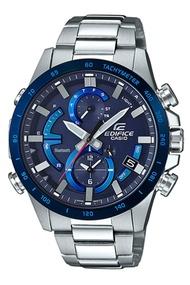 Casio Edifice นาฬิกาข้อมือผู้ชาย สายสแตนเลส รุ่น EQB-900DBEQB-900DB-2AEQB-900DB-2ADR - สีเงิน