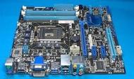 ASUS 華碩 P8h61-m/Bm6630/dp_mb 主機板 1155腳位/i3/i5/i7/DDR3 二手