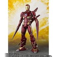 【紫色風鈴3】SHF 復仇者聯盟MK50 鋼鐵人 MK50 鋼鐵人 納米刀 武器套裝版可動  奈米刀 豪華 港版