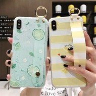 Wrist Strap Phone Case for OPPO R17 R9 R11s Plus R15 Pro Summer Small Fresh Style Cover A83 A79 A5 A7 A3 Soft Silicone Case Capa
